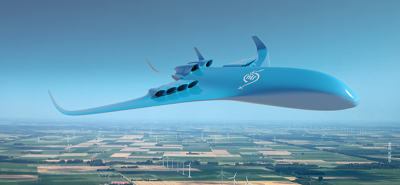 Hybride Elektrisch Vliegen